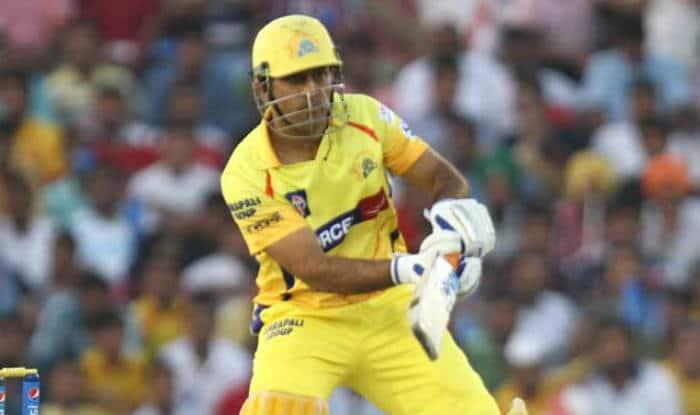 MS Dhoni hits three consecutive sixes in Tamil Nadu Premier League