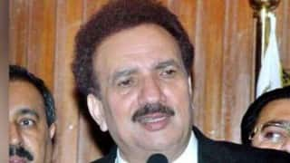 India trying to spoil Pakistan-Afghan ties: Rehman Malik