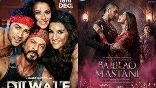 OMG!!! फिर टकराएँगे शाहरुख़ खान और संजय लीला भंसाली, दिलवाले और बाजीराव मस्तानी में कौन जीतेगा बाज़ी