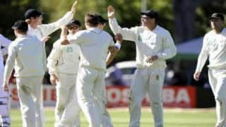 Zimbabwe vs New Zealand Test match: Zim dig in after Kiwis post mammoth total
