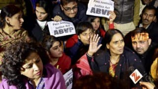 Suspense over Juvenile Justice Bill remains; Nirbhaya's parents to meet Sushma Swaraj