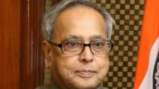 West Bengal Congress delegation meets Pranab Mukherjee; seeks help for tea workers