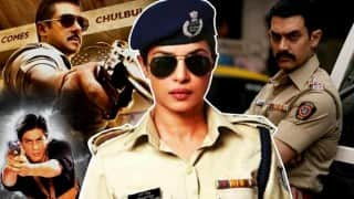 Priyanka Chopra thinks her cop act is better than Shah Rukh, Salman & Aamir Khan!