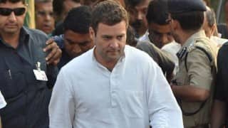 Rahul Gandhi accusation against RSS is baseless; he chose not to visit temple, says priest