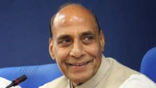 Rajnath Singh lauds Bihar Police for recovery of Mahavira idol