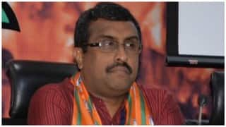 Manipur Assembly Elections 2017: BJP leader Ram Madhav accuses Congress of supporting Naga insurgents' demands in the past