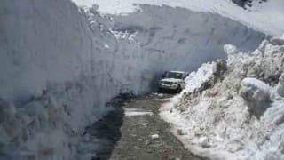 Cold wave sweeps north India, Leh shivers at -16 deg C