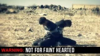 Shocking! New ISIS video blows up three al-Qaeda captives with live bombs (Watch Video)