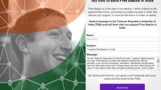As intolerance over net neutrality increases, Facebook launches campaign to 'Save Free Basics' in India