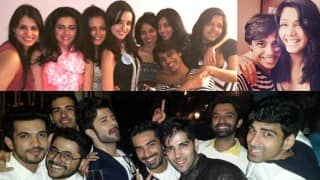 Sanaya Irani and Mohit Sehgal pre-wedding bash: Drashti Dhami, Arjun Bijlani and many more celebs in attendance!