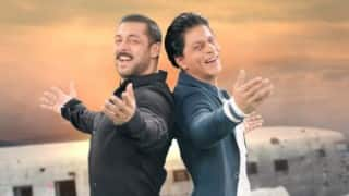 Shah Rukh Khan & Salman Khan Gerua song version on Bigg Boss 9 is too good! Watch Video