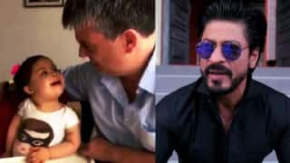 Shah Rukh Khan tweets Dilwale dubsmash of little girl with Down Syndrome