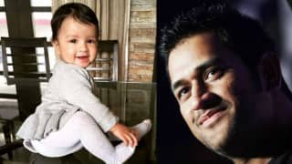 MS Dhoni's daughter Ziva is cute 10-month toddler! See pictures of Indian cricketer's baby girl