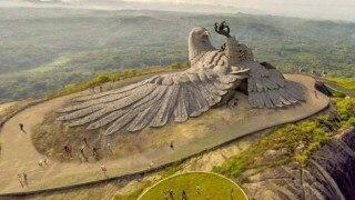 Jatayu Nature Park: Kerala to build world's biggest bird sculpture at the spot where Jatayu fell while fighting with Ravana!