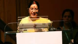 Sushma Swaraj addresses 'Heart of Asia' conference: Assures support to Afghanistan, extends olive branch to Pakistan