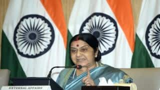 Why is it essential for Sushma Swaraj to attend 'Heart of Asia' conference in Islamabad?