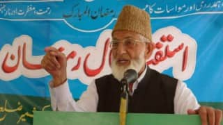 Hurriyat chief Syed Ali Shah Geelani appeals Kashmir youth to reject New Year celebrations, calling it 'immoral'
