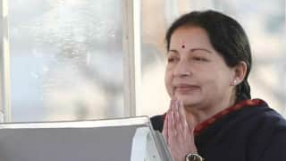 Thank you for attending, but seating per protocol, Jayalalithaa tells M K Stalin