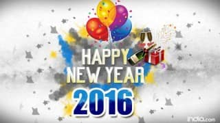 Happy New Year 2016: Best New Year SMS, WhatsApp & Facebook Messages to send Happy New Year greetings!