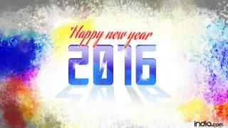 Happy New Year 2016 Hindi: Best New Year SMS, WhatsApp & Facebook Messages to send Happy New Year greetings!