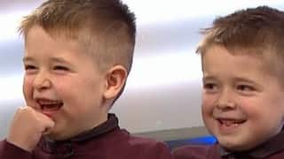 Christmas Surprise for twins suffering from Cancer! (The Jeremy Kyle Show video)