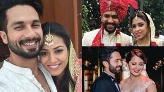 Shahid Kapoor-Mira Rajput to Rohit Sharma-Ritika Sajdeh: 18 biggest celebrity weddings of 2015