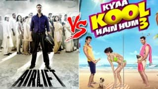 Airlift vs Kya Kool Hain Hum 3: Which film shined at box office day during Republic Day week?