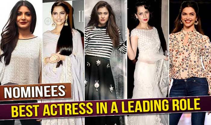 Filmfare Awards 2016 - Anushka, Sonam, Kajol, Kangana