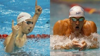 Michael Phelps fourth in 200m free won by France's Jeremy Stravius