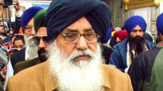 Pathankot attack: Parkash Singh Badal urges Centre to seal border to check terrorism