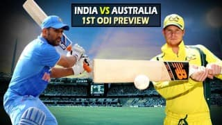 India vs Australia 1st ODI Preview: Hosts have slender edge ahead of 1st ODI at Perth