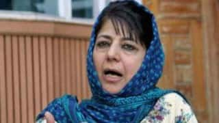 Kashmir unrest: People spreading violence can't be Kashmiris, says Mehbooba Mufti
