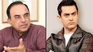Aamir Khan collaborated with ISI to promote his film PK, says Subramanian Swamy