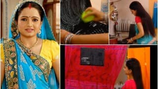 Saath Nibhaana Saathiya actor Giaa Manek is going viral with her laptop washing skills! Watch Video
