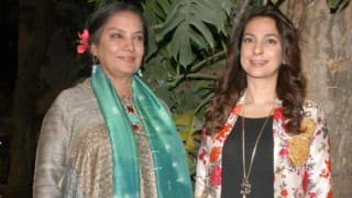 Juhi Chawla's enthusiasm behind Shabana Azmi doing 'Chalk N Duster'