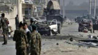One killed in Afghanistan bombing
