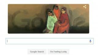 Google doodle pays tribute to famous painter Amrita Shergil on her 103rd birthday
