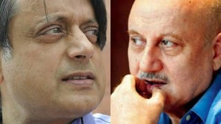 #CongiChamcha: Shashi Tharoor stumps Anupam Kher in epic Twitter war of words!