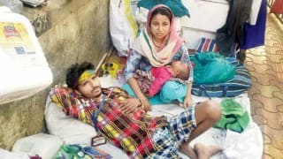 Homeless cancer patient's infant daughter dies due to cold outside Mumbai hospital