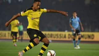 Pierre-Emerick Aubameyang is African Football's Player of the Year
