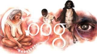 Australia Day 2016 Google Doodle by teenager Ineka Voigt supports the Aborigines; creates controversy!