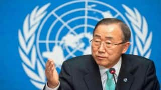 UN chief Ban Ki-Moon welcomes cuts in aviation carbon emissions