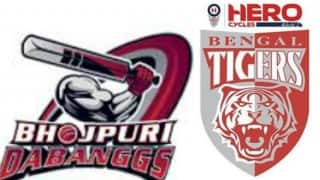 Watch Free Live Streaming and Telecast of Bhojpuri Dabanggs vs Bengal Tigers Celebrity Cricket League (CCL) 6