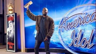 Kanye West croons `Gold Digger` during 'American Idol' auditions