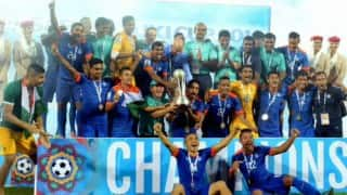 India wins SAFF Cup title for 7th time; beats Afghanistan 2-1 to lift