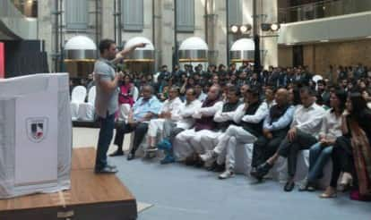 Rahul Gandhi interaction with NMIMS students: Congress vice president slams BJP for blocking GST
