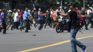 Police say 1 man killed in Jakarta was civilian, not bomber