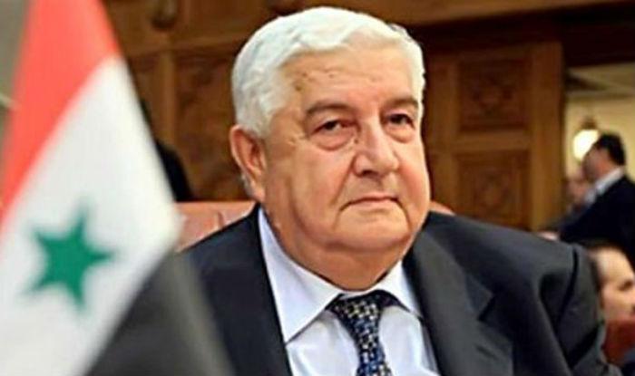 Syrian Deputy Prime Minister Walid Al Moualem arrives on four-day visit
