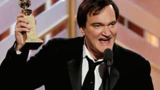 Golden Globes Awards 2016: Quentin Tarantino blasted for his speech