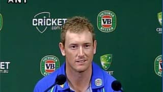 It would have been interesting on DRS to have a look: George Bailey